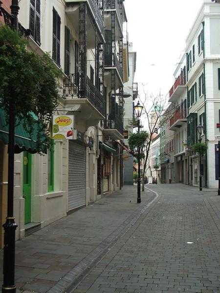 Street view in Gib.