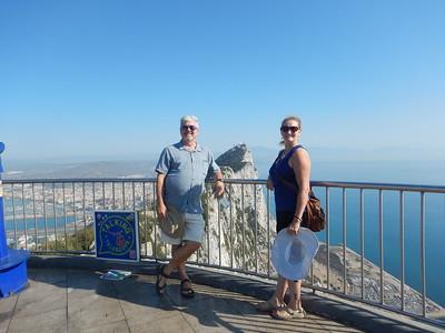 Ed & Irene at Gibraltar