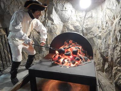 heating cannon balls