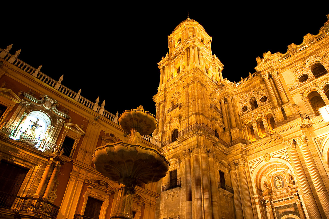 The cathedral of Malaga.