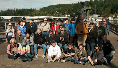 Group photo for Scott Kelby's 4th annual Worldwide Photo Walk, in the Skansie Brothers Park Pavillion in Gig Harbor, Washington.