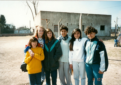 Gina & Me  in Aargentina 1992