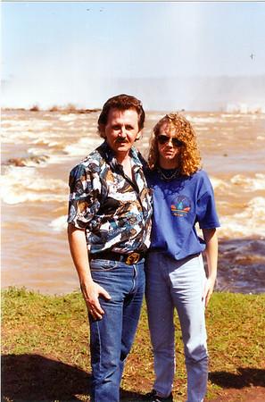 Gina & Me in Argentina 1993