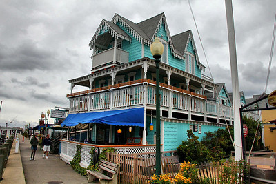 The Lobsterville Bar and Grill, in Oak Bluffs on Martha's Vineyard.