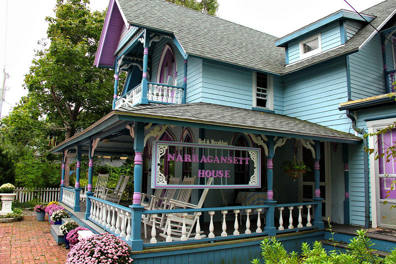 One of the more well known B & B establishments on the Island is the Narragansett House.