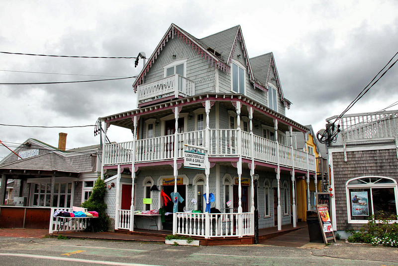 """Sunsations"" beach shop in Oak Bluffs, on Martha's Vineyard."