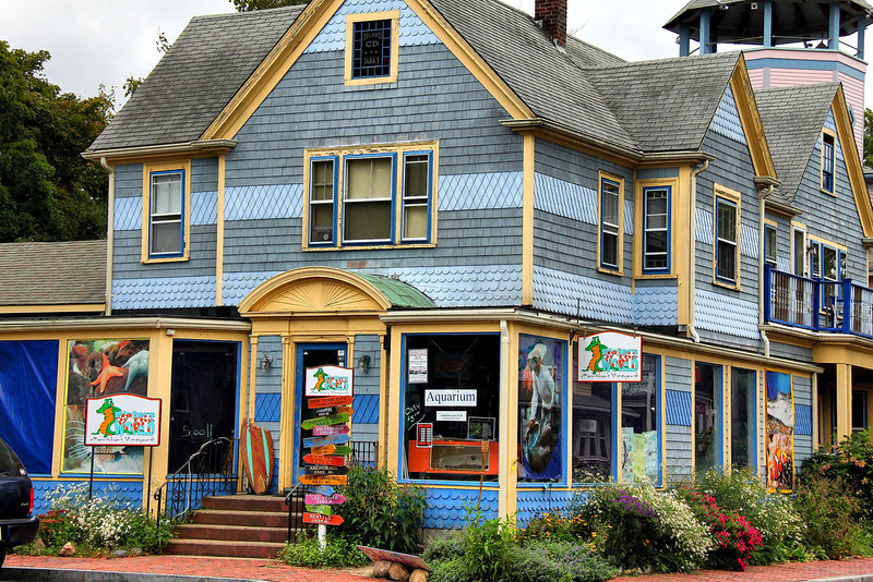 A business called Waters of the World on Martha's Vineyard.