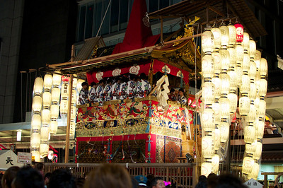 "One of the floats, ""Hoko,"" for Gion matsuri in Kyoto."
