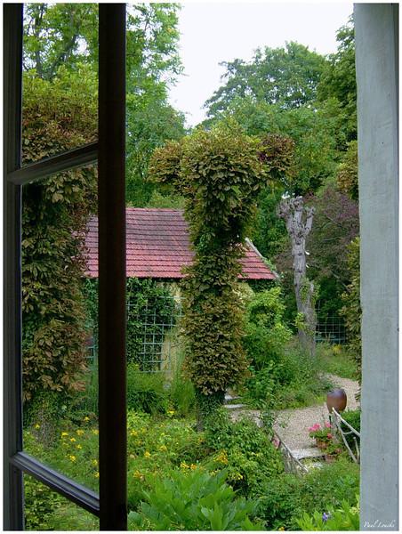 Art studio behind the Monet home