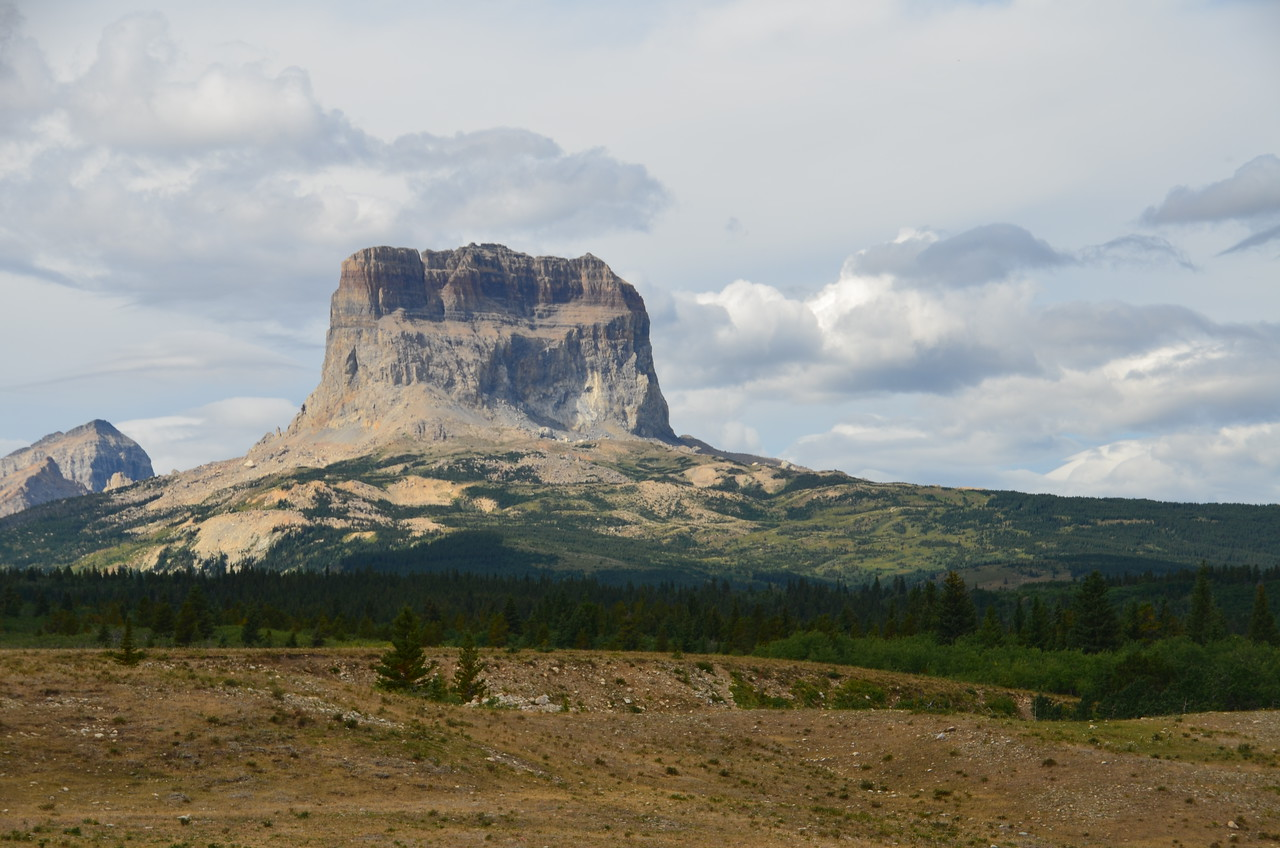 Chief Mountain - Glacier National Park.  August 2011.