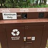 Park recycles aluminum and maybe one other thing...