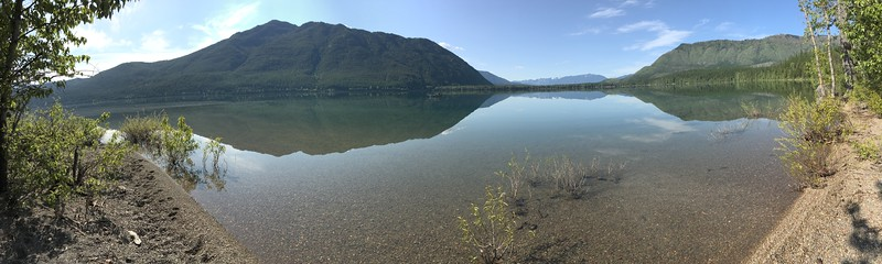 Fish Creek Picnic Panorama