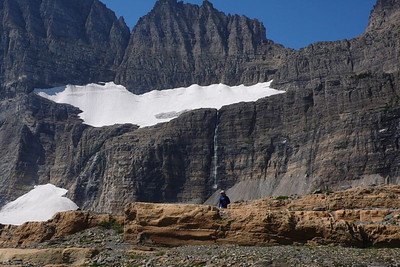 Salamander and Grinnell Glaciers.