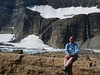 Hanging out by Grinnell Glacier.