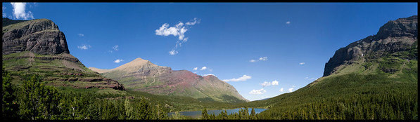 East side of Glacier National Park
