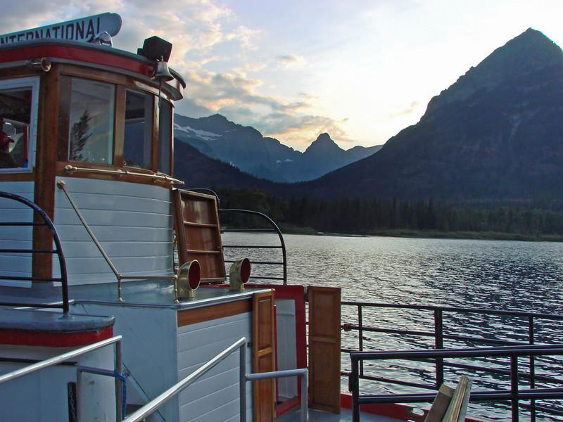 Cruise Boat, Waterton Lakes National Park