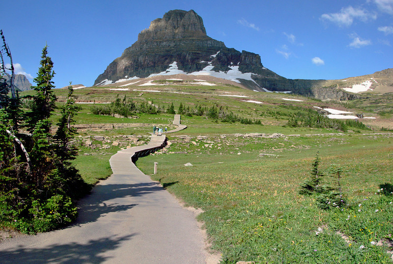Hidden Lake Trail - Logan's Pass - Glacier National Park
