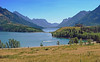 Upper Waterton Lake, Prince of Wales Hotel - Waterton Lakes National Park