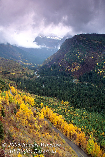 Autumn, Going-to-the-Sun Road, Glacier National Park, Montana, North America