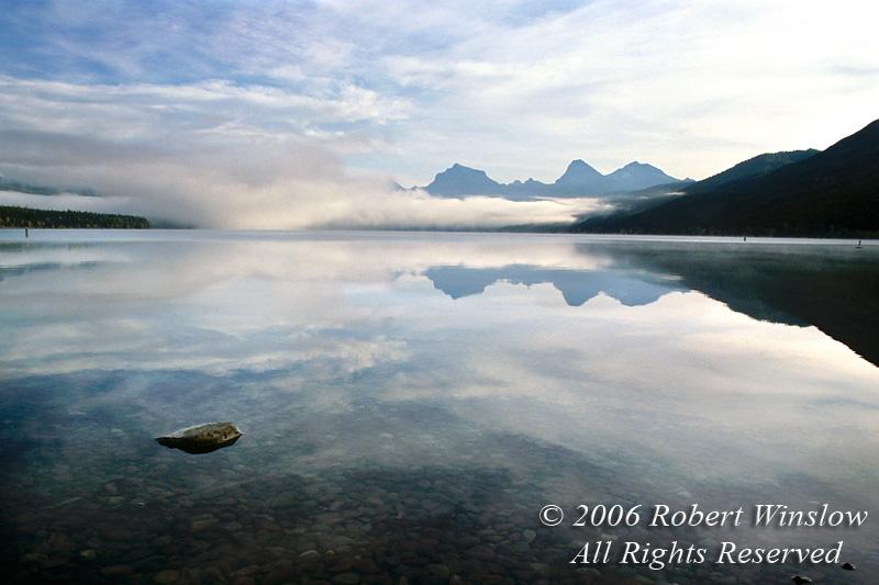 Lake McDonald, Glacier National Park, Montana, USA, North America
