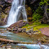 St Mary's Falls Area - Glacier National Park