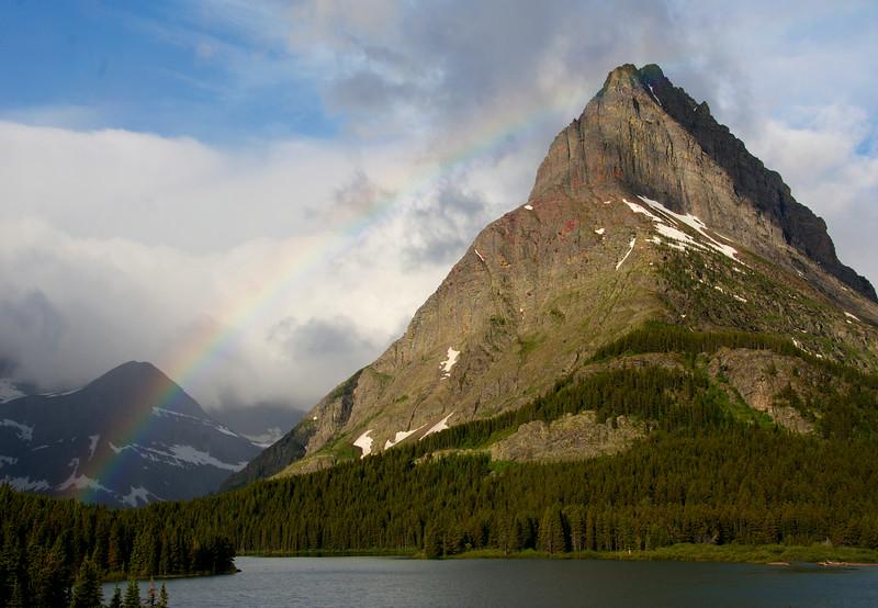 Grinnell Peak Rainbow