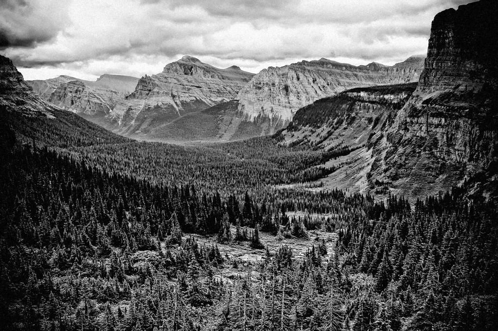 old timey @ Glacier National Park