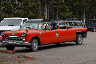 Glacier Park Lodge shuttle.
