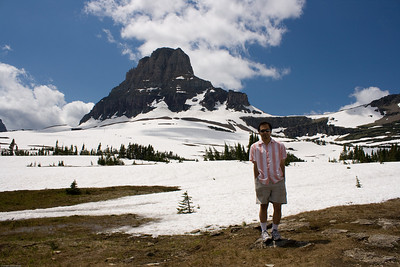 Rajiv at Logan Pass