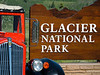 The Red Buses are an icon of Glacier National Park.