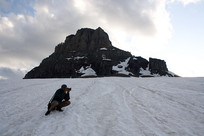 Harish at logan pass