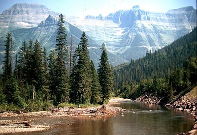 Glacier Park to Canada 1971