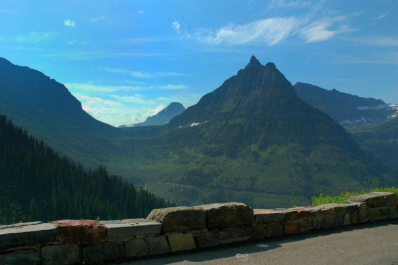 Still on the Going To The Sun Road heading back to Kalispell for the flight home.
