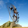 "North Dakota - The Enchanted Highway - <a href=""http://www.enchantedhighway.net/"">http://www.enchantedhighway.net/</a><br /> Interesting concept, but the sculptures are spread way out.  This was geese in flight."