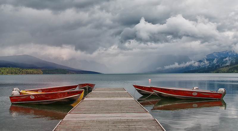 Storm Over Lake McDonald