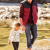 Luke and Mia at the Paluxy River