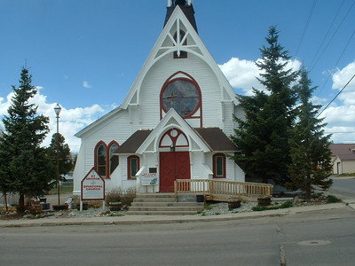 Episcopal Church - downtown Leadville, CO
