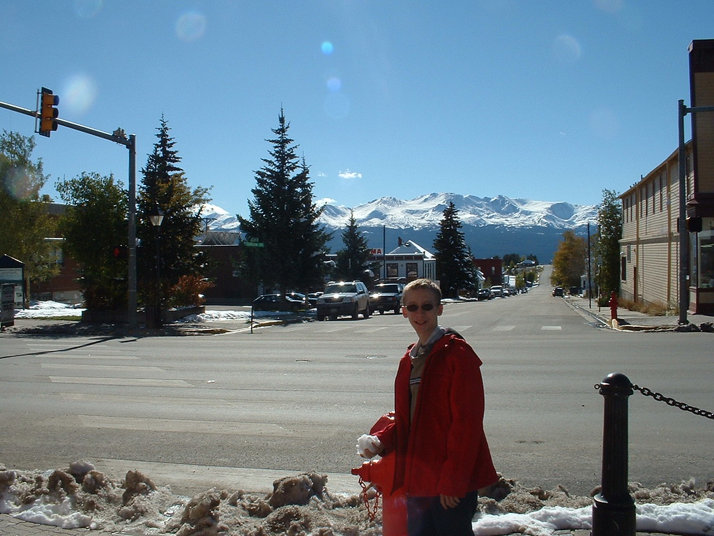 Downtow Leadville, Co - Mt. Massive in the background
