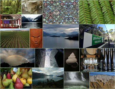 "Go Ahead ""100 % Pure"" New Zealand & Fiji Undiscovered Landscapes 2016"