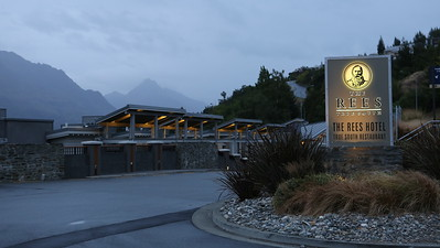 The Rees True South Hotel- our Queenstown, NZ base for 3 days