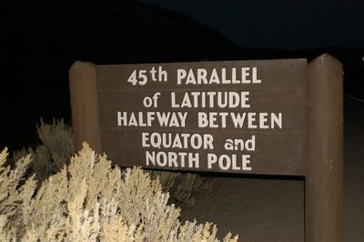 I  HAVE  BEEN  ON  THE 45TH  PARALLEL  IN KOREA  NOW  IN   YELLOWSTONE PARK....WHAT A CONTRAST!!
