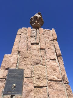 Wyoming with kids Abraham Lincoln Memorial Monument Laramie