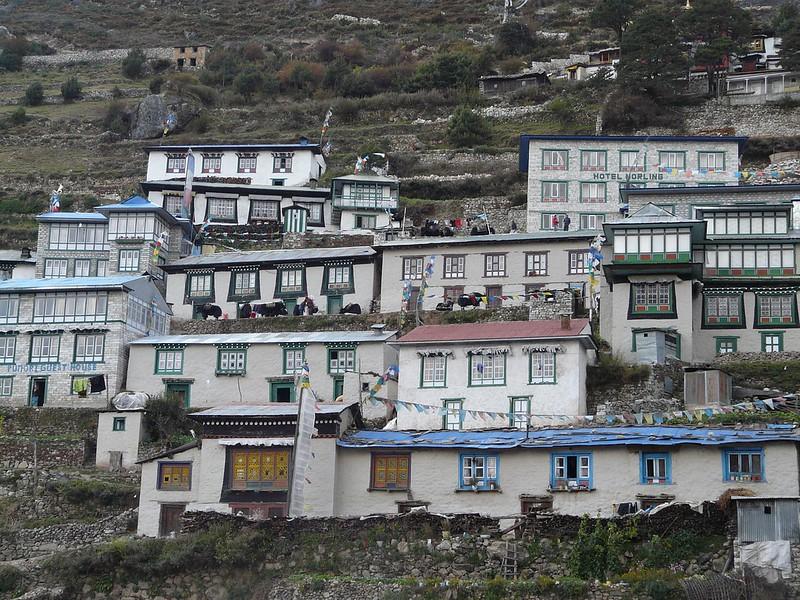 Namche Bazaar Sherpa Mt Everest Khumbu