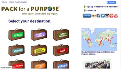 Pack for Purpose Top Eco App