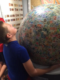 World's Largest Ball Stamps Boy's Town, Nebraska