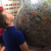 World's Largest Ball Stamps
