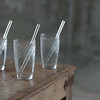 Reusable Glass Drinking Straws