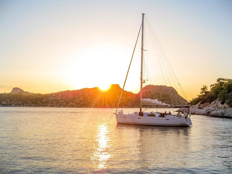 The Ionian Sea Sailing