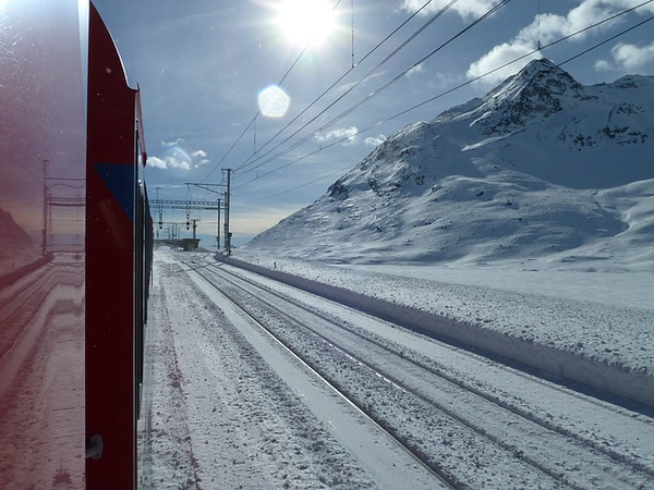 Glacier Express Train Graubunden