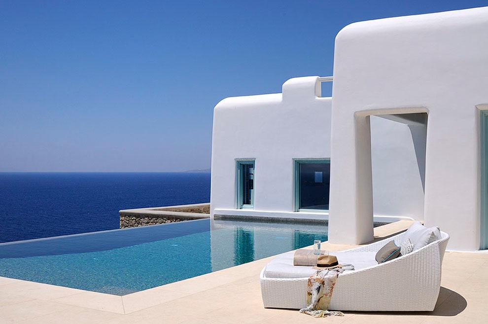 vacation in mykonos greece luxury villas